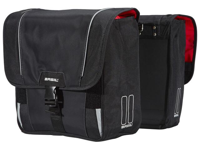 Basil Sport Design Doppeltasche schwarz